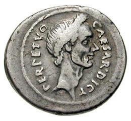 AE julius caesar coin